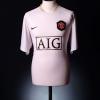 2006-07 Manchester United Away Shirt Larsson #17 XL
