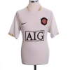 2006-07 Manchester United Away Shirt Smith #14 M
