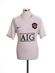 2006-07 Manchester United Away Shirt XL