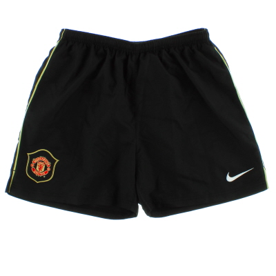 2006-07 Manchester United Away Shorts L.Boys
