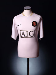 2006-07 Manchester United Away Shirt XL.Boys