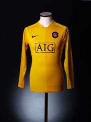 2006-07 Manchester United Goalkeeper Shirt L.Boys
