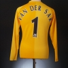 2006-07 Manchester United Goalkeeper Shirt Van Der Sar #1 L.Boys