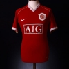 2006-07 Manchester United Home Shirt Rooney #8 S