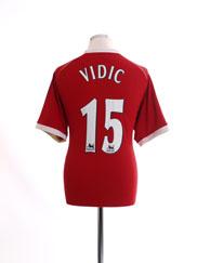 2006-07 Manchester United Home Shirt Vidic #15 *BNWT* L
