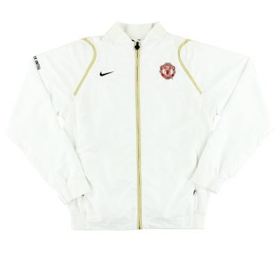 2006-07 Manchester United Nike Track Jacket L