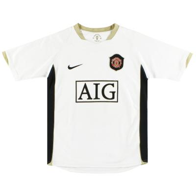 2006-07 Manchester United Nike Away Shirt XL.Boys