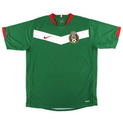2006-07 Mexico Nike Home Shirt L