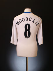 2006-07 Middlesbrough Away Shirt Woodgate #8 XXXL