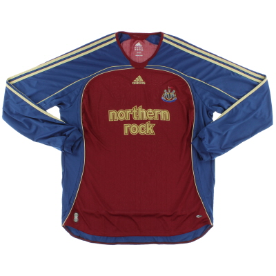 2006-07 Newcastle Away Shirt L/S XXL