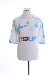 2006-07 Olympique Marseille Home Shirt XXL