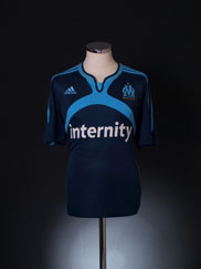 2006-07 Olympique Marseille Third Shirt L