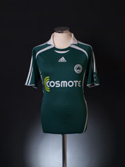 2006-07 Panathinaikos Home Shirt S