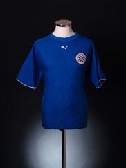 2006-07 Paraguay Away Shirt L