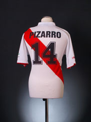 2006-07 Peru Home Shirt Pizarro #14 L