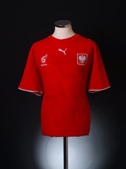 2006-07 Poland Away Shirt XL