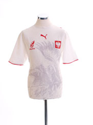 2006-07 Poland Home Shirt M