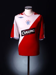 2006-07 Rangers Away Shirt S