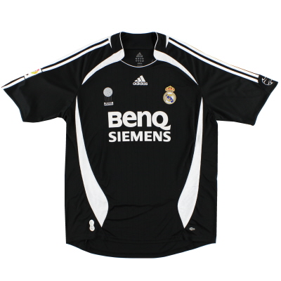 2006-07 Real Madrid Away Shirt L