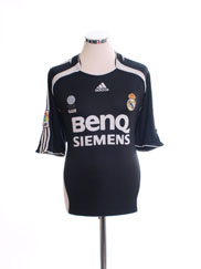 2006-07 Real Madrid Away Shirt M