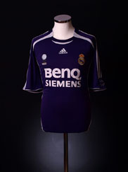 2006-07 Real Madrid Third Shirt XL