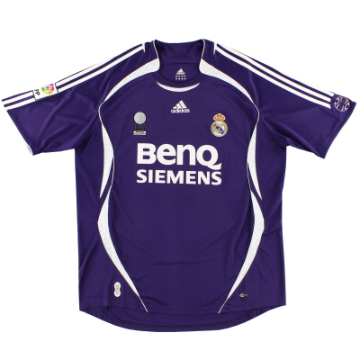 2006-07 Real Madrid adidas Third Shirt XXL