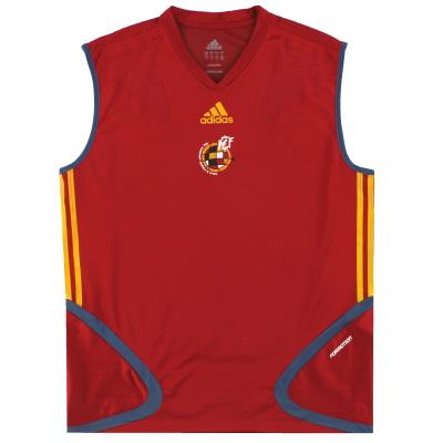 2006-07 Spain adidas 'Formotion' Training Vest M/L