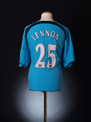 2006-07 Tottenham Away Shirt Lennon #25 XXL