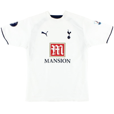2006-07 Tottenham Home Shirt M