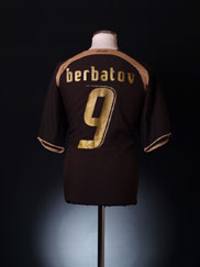 2006-07 Tottenham Third Shirt Berbatov #9 XL