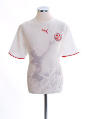 2006-07 Tunisia Home Shirt M