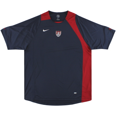 2006-07 USA Nike Training Shirt *Mint* XXL