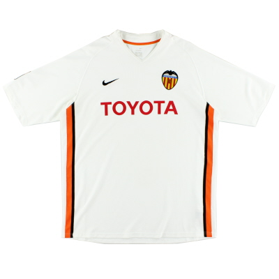2006-07 Valencia Home Shirt XL
