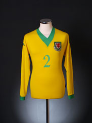 2006-07 Wales Away Shirt #2 L/S XL
