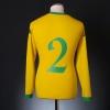 2006-07 Wales Away Shirt #2 L/S XL