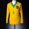 2006-07 Wales Away Shirt #4 *As New* L/S XL