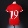 2006-07 Wales Home Shirt #19 XL