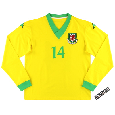 2006-07 Wales Kappa Player Issue Away Shirt #14 *w/tags* XXL