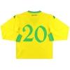 2006-07 Wales Kappa Player Issue Away Shirt #20 *w/tags* XXL