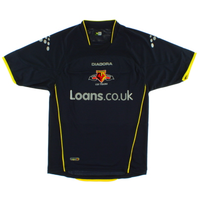 2006-07 Watford Away Shirt S