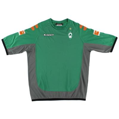 2006-07 Werder Bremen Kappa Training Shirt L