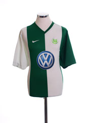 2006-07 Wolfsburg Home Shirt L