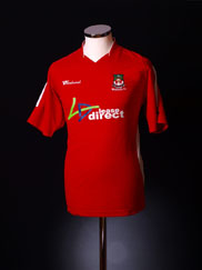 2006-07 Wrexham Home Shirt S