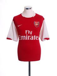 2006-08 Arsenal Home Shirt S