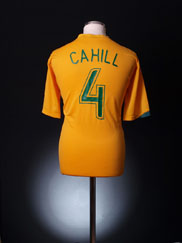 2006-08 Australia Home Shirt Cahill #4 XL