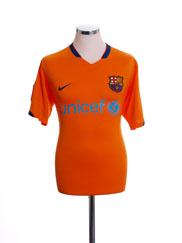 2006-08 Barcelona Away Shirt XL.Boys