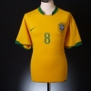 2006-08 Brazil Home Shirt Kaka #8 XL