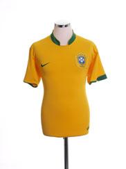 2006-08 Brazil Home Shirt S
