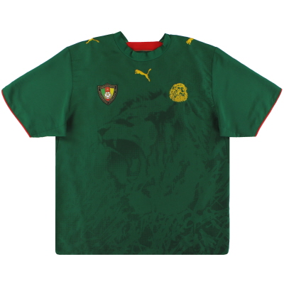 2006-08 Cameroon Puma Home Shirt L