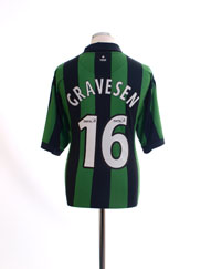 2006-08 Celtic Away Shirt Gravesen #16 XL